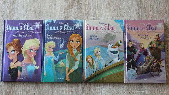 Anna&Elsa 4 książki