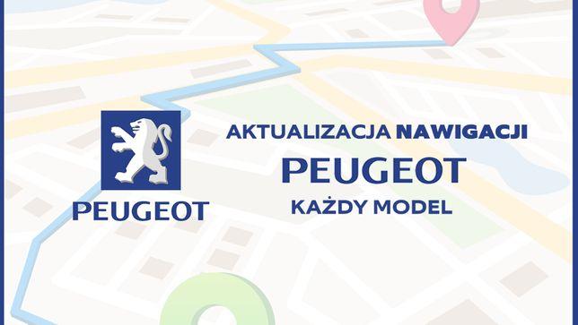 Aktualizacja Nawigacji Peugeot / citroen - Każdy model