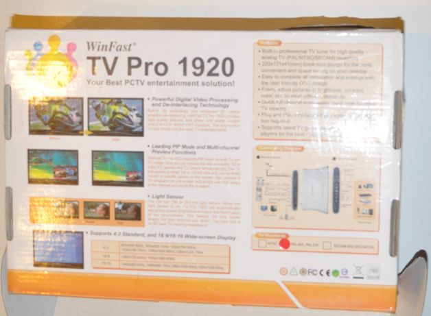 Tuner TV -LEADTEK WinFast TV PRO 1920