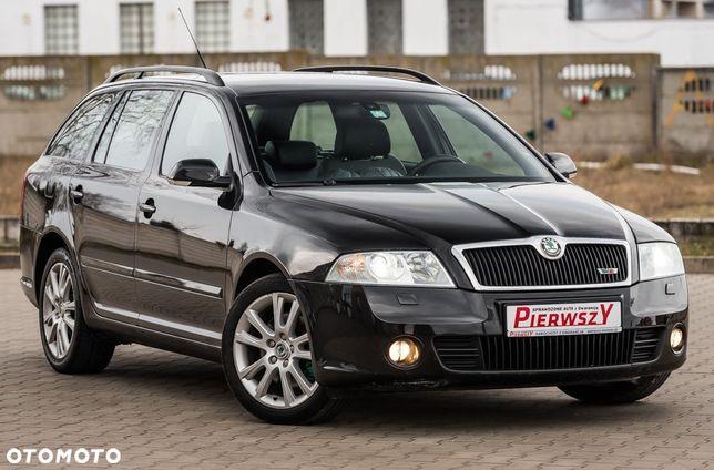 Škoda Octavia VRS 2.0T 200KM Alcantara Skóra Grzane Fotele PDC...