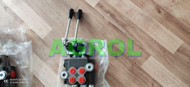Rozdzielacz hydrauliczny 2 sekcyjny 40L Gwarancja - nowy- Wysyłka