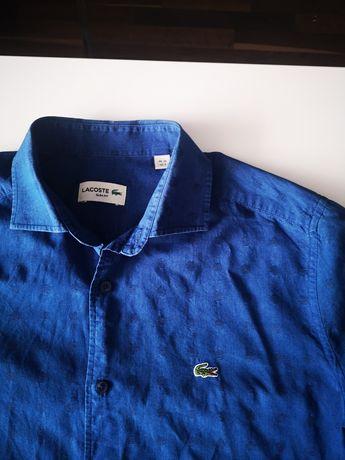 Ładna koszula męska Lacoste rozmiar S slim fit