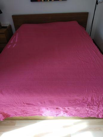 Manta ou colcha rosa choc