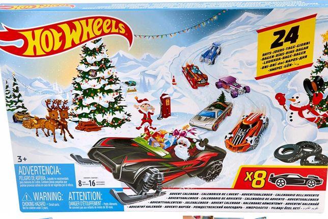 Hot Wheels Kalendarz Adwentowy