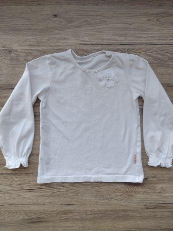 Biała bluzka dziewczęca 98/104