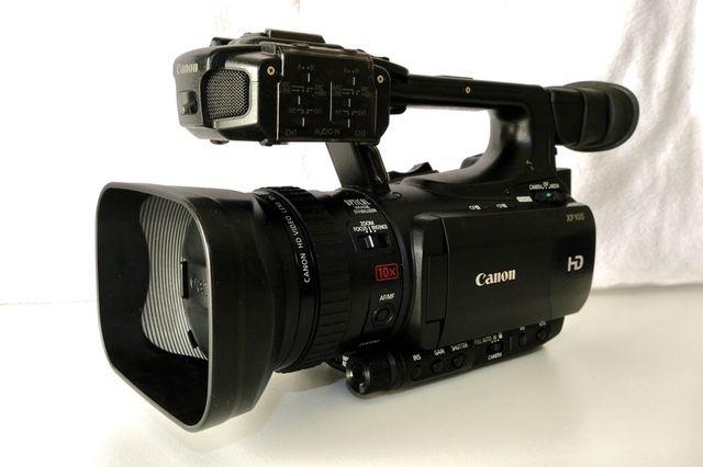 Kamera Canon XF100/105 zestaw