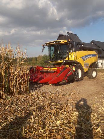Usługi Rolnicze Koszenie kukurydzy orkasiew zbóż inne Kopanie spychacz