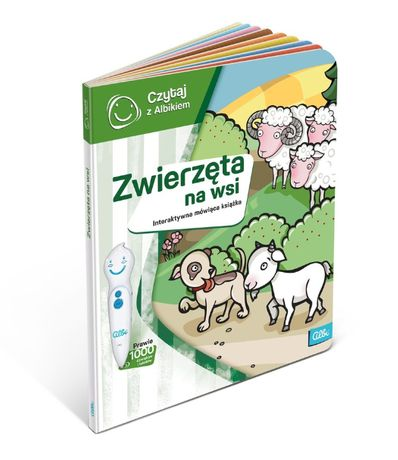 Książka Czytaj z Albikiem Zwierzęta na wsi (59869)