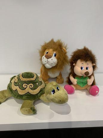 Говорящие игрушки Львенок и Черепаха