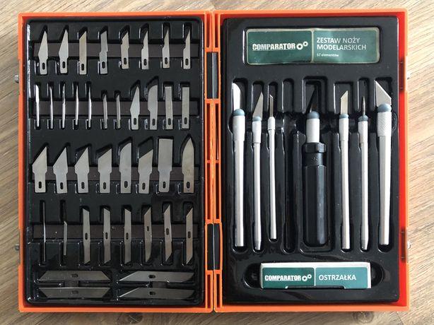 Zestaw noży modelarskich 57 elementów