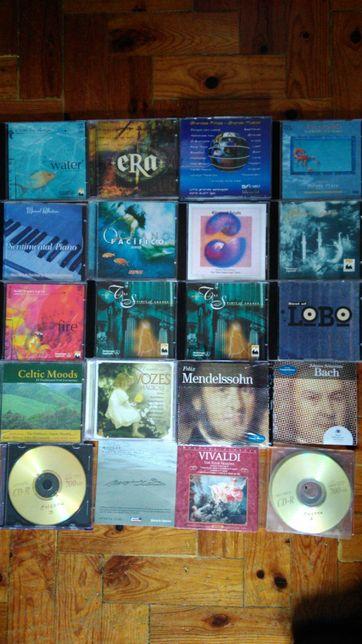 12 CDs instrumental e Clássica