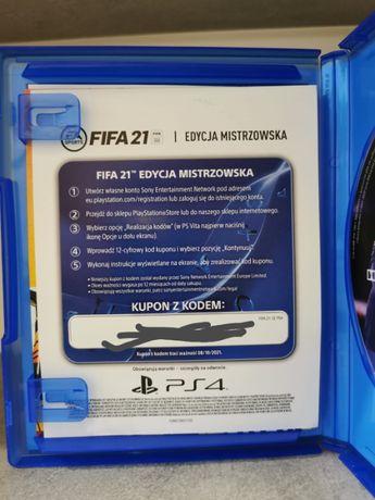 Kod Dlc Edycja Mistrzowska FIFA 21 PS4 PS5 ~PL~ ( Lubliniec )