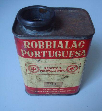 Lata esmalte Robbialac Portuguesa