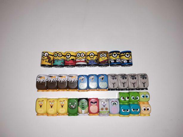 Minionki Runners/Angry Birds/figurki stokrotka