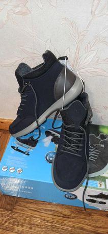 Демисезонные ботинки с мембраной, хайтопы муж., Германия, 42 р, 27 см