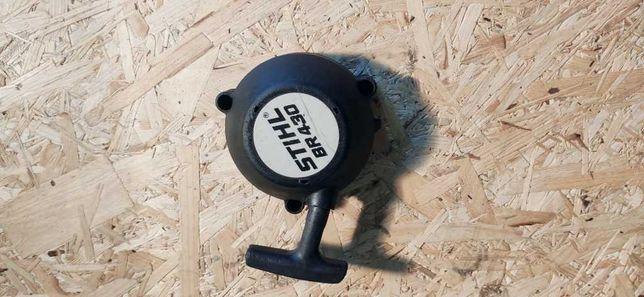 Stihl br BR 430 szarpak cylinder tlok wydech magneto czesci