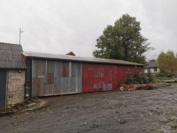 Hala garaż wiata garażowa. Wiata stalowa 11x20 Blaszak