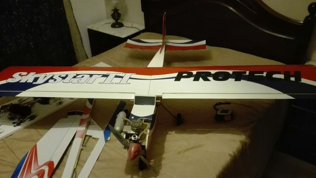 Avião Gasolina