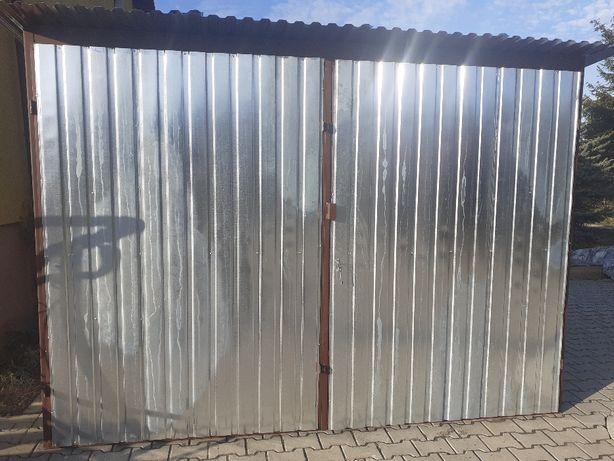 Garaż blaszany Standardowy 3x5 Tanio garaze blaszane całe województwo