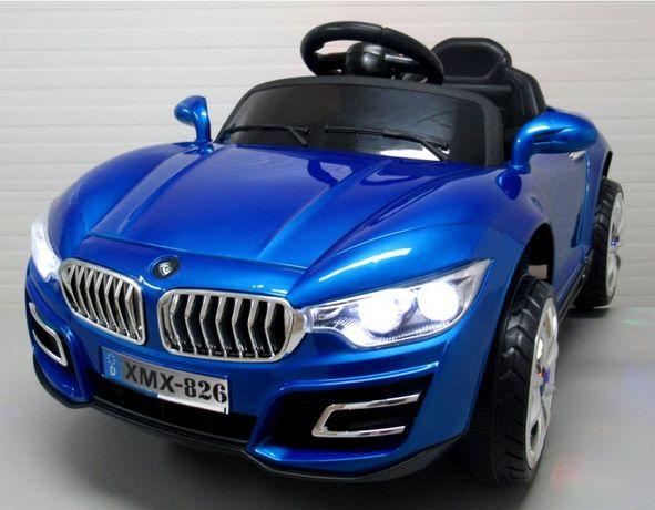 Електромобіль дитячий синій та червоний электромобиль детский