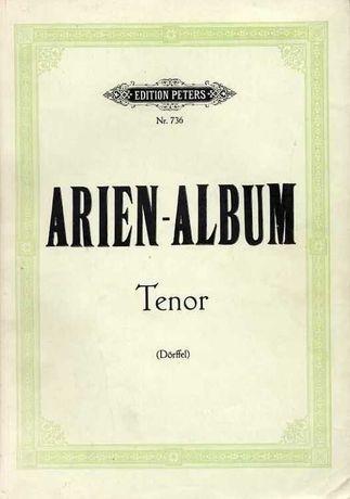 Arien-Album fur Tenor arie na tenor z fortepianem nuty