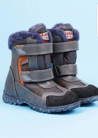Новые зимние ботинки/сапоги зима (18см)