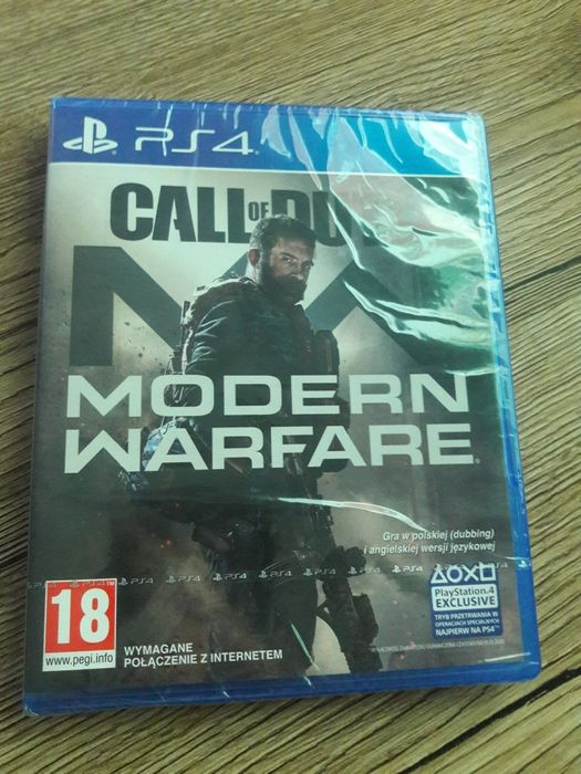 Call of duty Modern Warfare PS4 Nowa  PL Wrocław - image 1