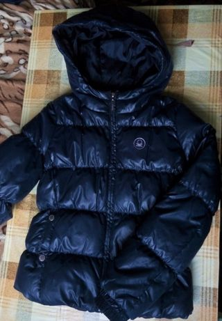 Мегакрутая куртка курточка пуховик на 8-9лет United Colors of Benetton