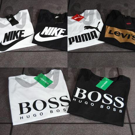 Koszulki Damskie Męskie logo Puma Boss Nike XS S M L XL XXL 3XL