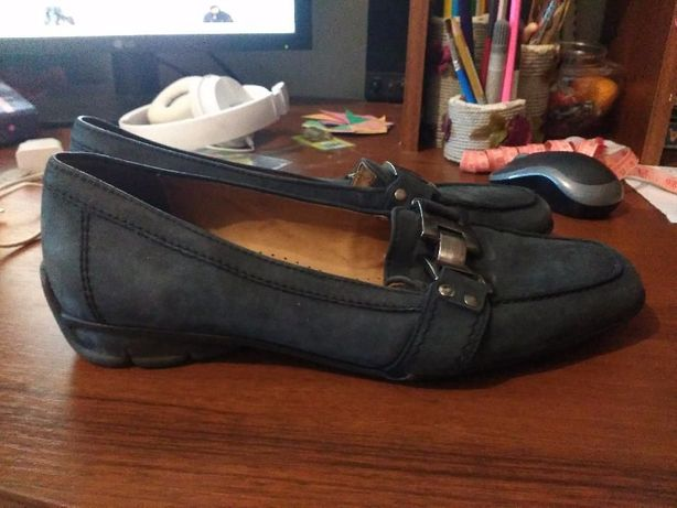 Gabor Брендовые туфли размер 6, стелька 26см.