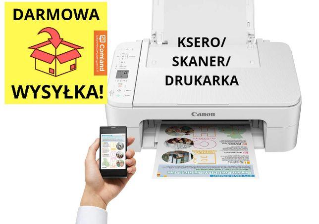 Drukarka/skaner/ksero-Canon PIXMA TS3351 biała- NOWA