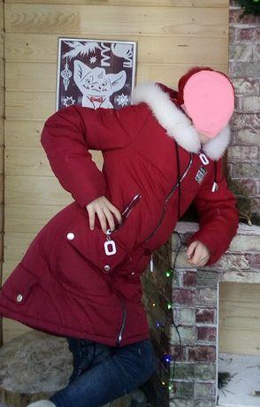 Продається зимове пальто для дівчинки 10-12 років