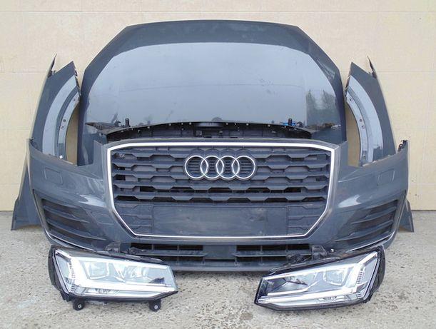 Audi Q2 Q3 F3/U8 Q5 8R/FY Q7 4L/4M Q8 фара бампер капот крыло дверь