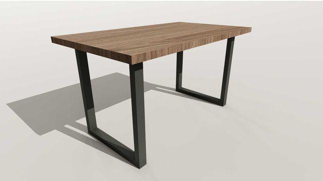 Stół LOFT 140x80 styl industrialny nogi metalowe