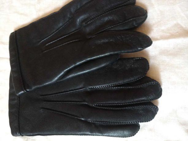 Продам мужские кожаные перчатки, новые, на подкладке