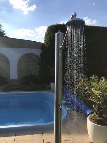 Prysznic ogrodowy basenowy do balia Swan Head PREMIUM