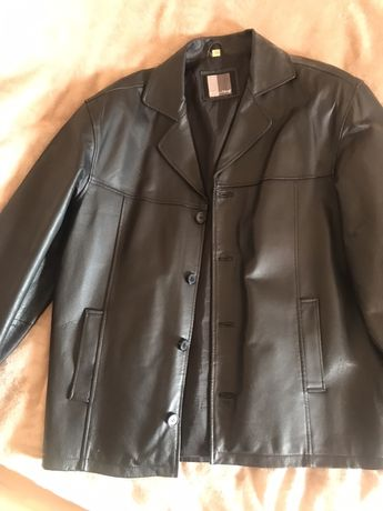 Кожаный пиджак, пальто, новый натуральная кожа