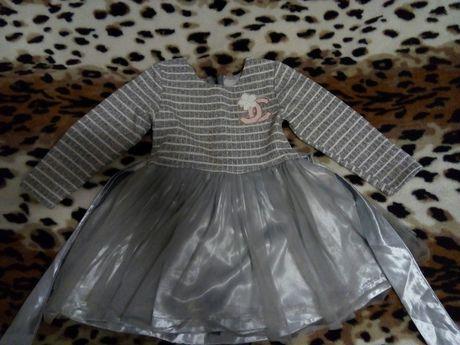 Нарядное платье на возраст 4-5 лет