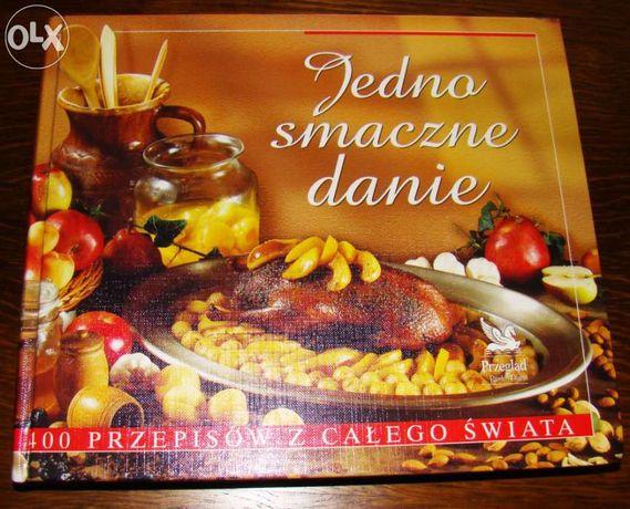 Książka Kucharska: Jedno smaczne danie.