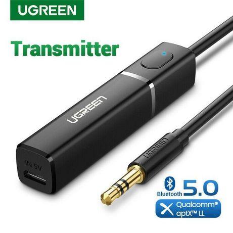 Ugreen Bluetooth 5 передатчик Hi-Fi AUX aptX LL transmitter Гарантия!