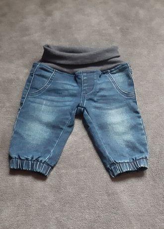 Spodenki jeansowe niemowlęce