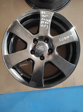 24 Felgi aluminiowe FORD R 16 5x108 Idealne Czarne