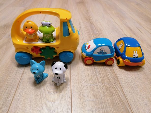 Smiki sorter muzyczny, samochody GRATIS