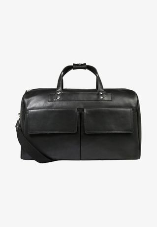 Torba z kieszenią skóra naturalna Nowa weekendowa bagaż podręczny