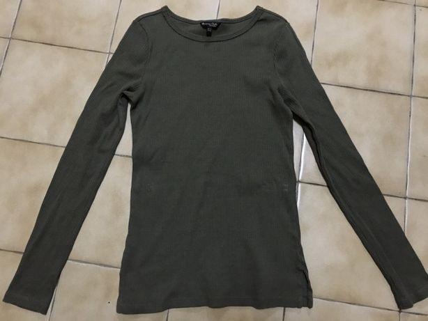 Camisola verde escuro Massimo Dutti