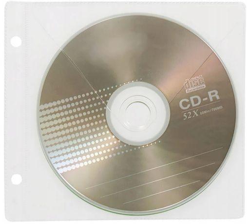 koszulki na cd/d do segregatora 100 sztuk