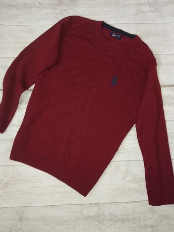 Вязаная кофта на подростка (свитер)