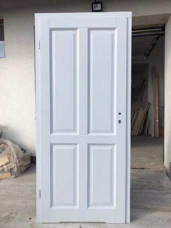 drzwi drewniane STYL od ręki sosnowe