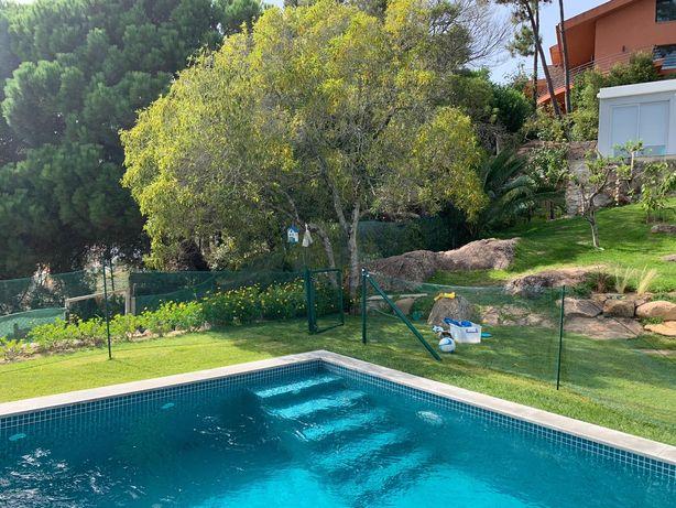 Vedacao piscina etc 40 metros com portão