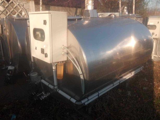 Schładzalnik zbiornik na mleko